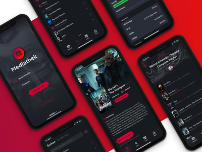 Mediathek for iOS vastarmy ios swift collector movie bluray design ux ui development app