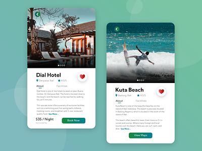 BaliApp Application user interface design user inteface ui ux landing page vector design branding application graphic design flat app ux ui
