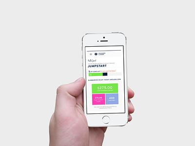 KEEP Responsive Website responsive web ui ux tracker dashboard