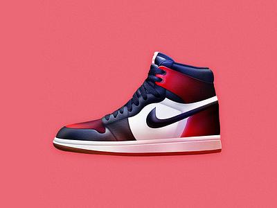 Nike Air Jordan 1 | Skeuomporphism