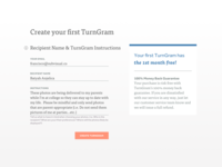 Create TurnGram Form