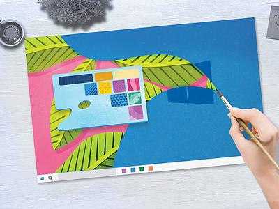 Style frame animation styleframes papercraft papercut