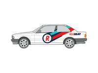 Revheat Car mock-up
