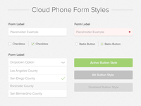 Form Style Guide