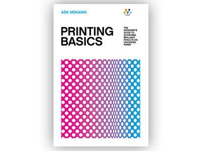 Print Basics Cover mohawk offset printing