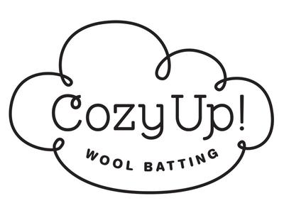 Cozy Up Wool Batting Logo Concept Sketch