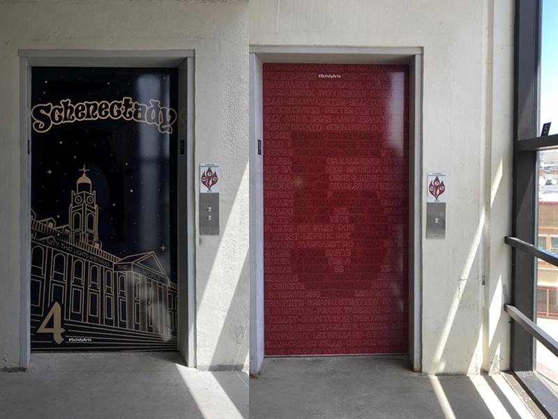 Celebrating Schenectady Elevator Door Panels By Jennifer