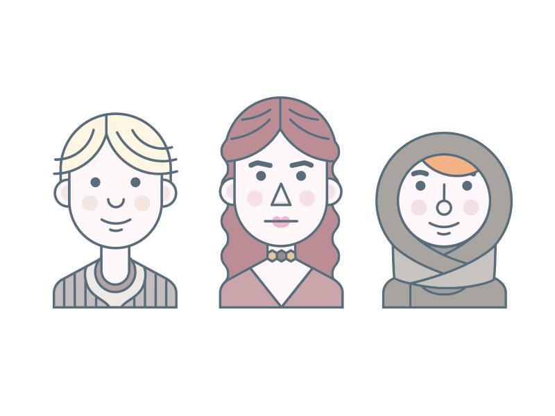 Women of Thrones #2 game of thrones character tv show illustration portrait