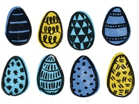 Easter Egg Doodles