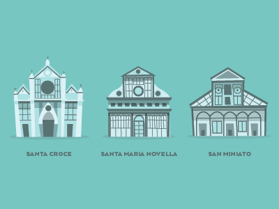 Italian Church Illustrations