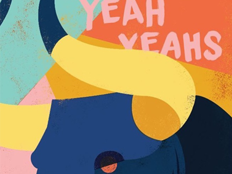 Yeah Yeah Yeahs Gig Poster bull illustration music poster gig poster poster design