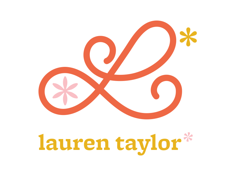 Personal Identity Logo mustard flower asterisk l l logo personal identity personal logo logo