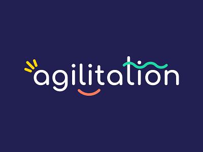 Agilitation Logo branding graphism logo