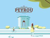 Peyrou Montpellier