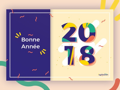 Happy new year 2018 card abstract wish year new 2018 bonne année new year shot happy new year