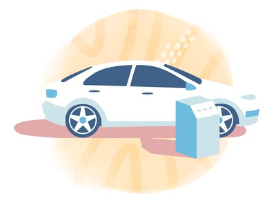 Netmotor Car texture car illustration