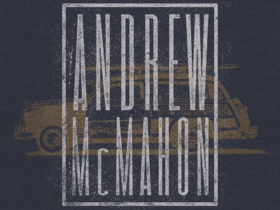 Andrew McMahon - Woodie andrew mcmahon band apparel merch woodie