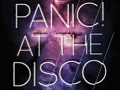 Panic! at the Disco - Galaxy panic at the disco apparel band merch galaxy stars