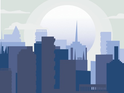 Building aesthetics art icon illustration vector animation illustrator design flat