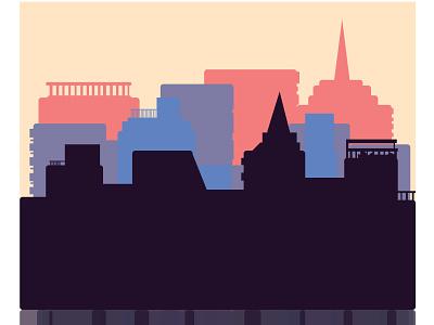 citybuildings 3 graphic design art vector minimal illustrator illustration flat icon design