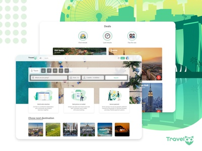 TravelOp frontend development development frontend uidesign uxdesign travel app adobexd adobe dribbble ux ui singapore travel