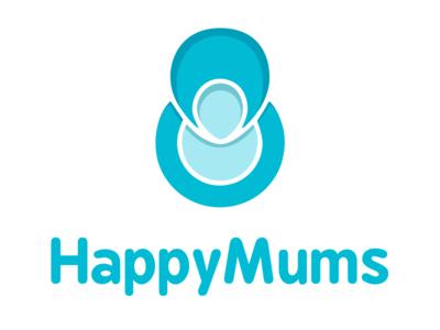 HappyMums branding logo