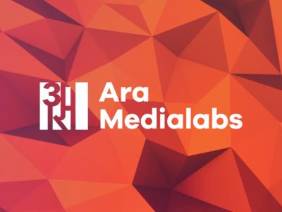 Ara Medialabs Branding pune design media logo branding aramedialabs