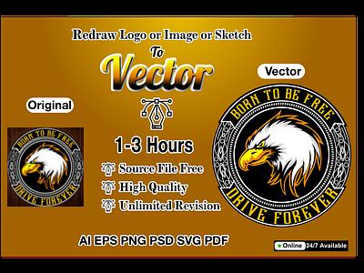 Vector Tracing drawing vectorize image vectorize illustraion vector tracing line drawing vector vectorart redraw logo to vector line art line art logo illustration