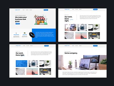 Design course website website design