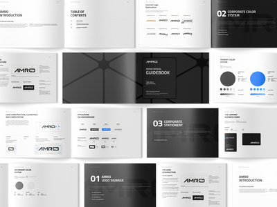 Brand Booklet brand identity design guidelines logo booklet brand manual