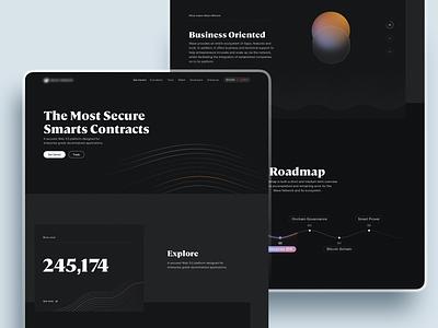 Blockchain Platform - Homepage