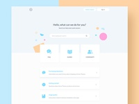 Help center - Homepage