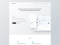 HomePage - Zendesk theme website