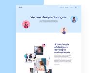 Evolt Design Suite - About page