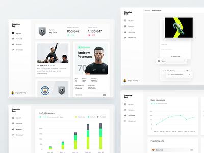 Creative Bot - Dashboard Preview