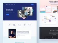 Evolt website V2 - Enterprise Page