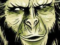 """Cornelius from """"Planet of the Apes"""""""