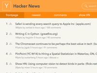 Hacker News Redesign