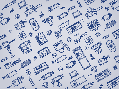 Instruments Pattern icons sensing products pattern