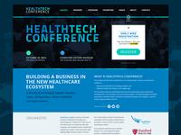 HealthTech Conference website