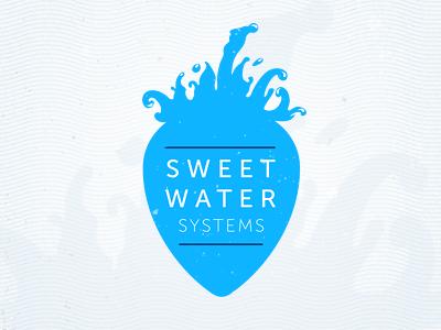 Sweet Water Systems logo v.1 logo water sweet water blue