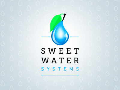 Sweet Water Systems logo v.3 (approved) logo water sweet water blue green