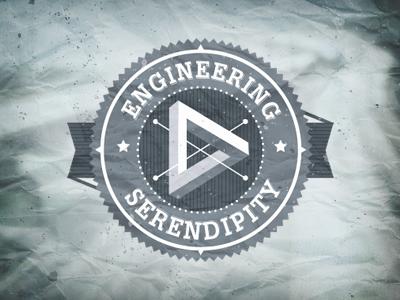 Engineering serendipity logo v.1 logo branding serendipity engineering badge graphic