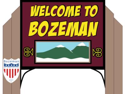 Bozeman (Southpark style) Signs