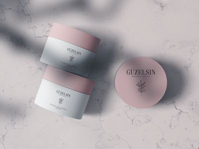 GÜZELSIN - Branding natural plant power herbal botanical beauty product skin care turkish packaging design branding cosmetics