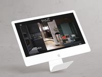 Shazé Website design