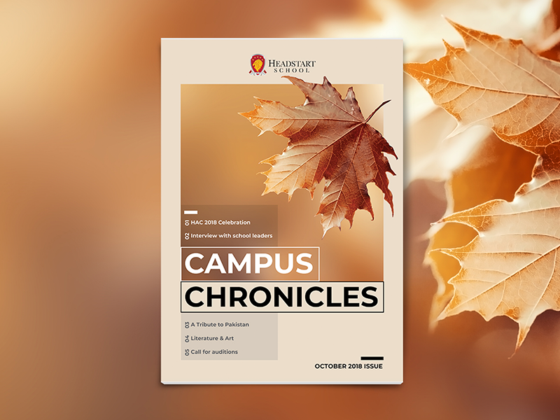 Newsletter design fall issue warm leaves autumn fall publication editorial design cover design newsletter