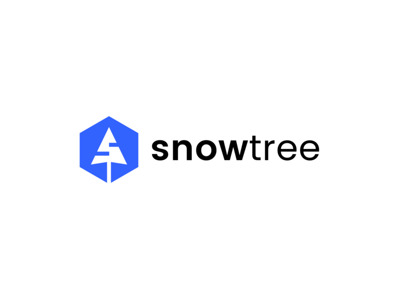 snowtree coding arrow mouse initial s letter logo software development development software tree snow