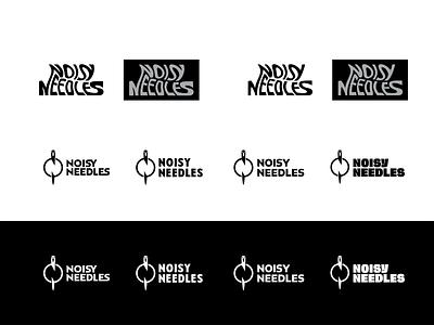 noisy needles n logo n letter letter n wordmark noisy noisyneedles needle logo logo design embroidery studio logo new embroidery studio embroidery startap embroidery logo