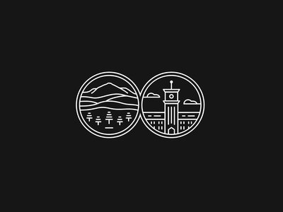 Embroidery logo for Eyecare clinic badge medical logo simplification hills moscow university of pullman building hills landscape logo pine trees logo family eyecare clinic eyeclinic eyecare logo simple